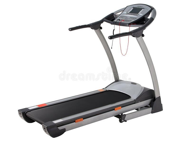 Running machine stock photo
