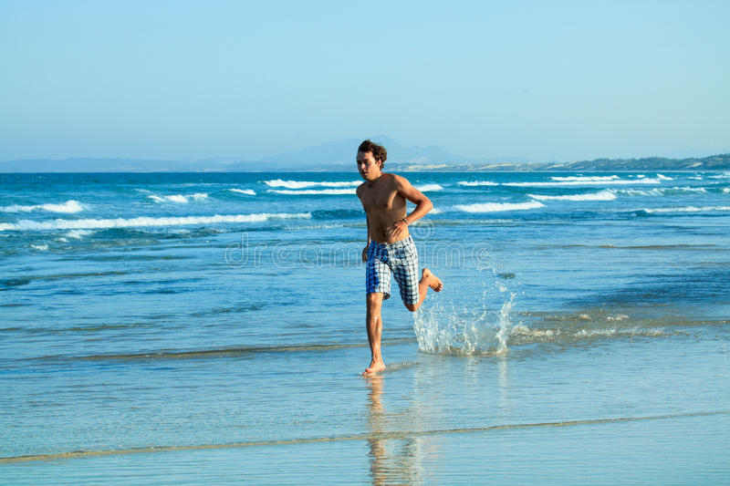 Download Running man stock image. Image of leisure, adult, harmony - 14259049