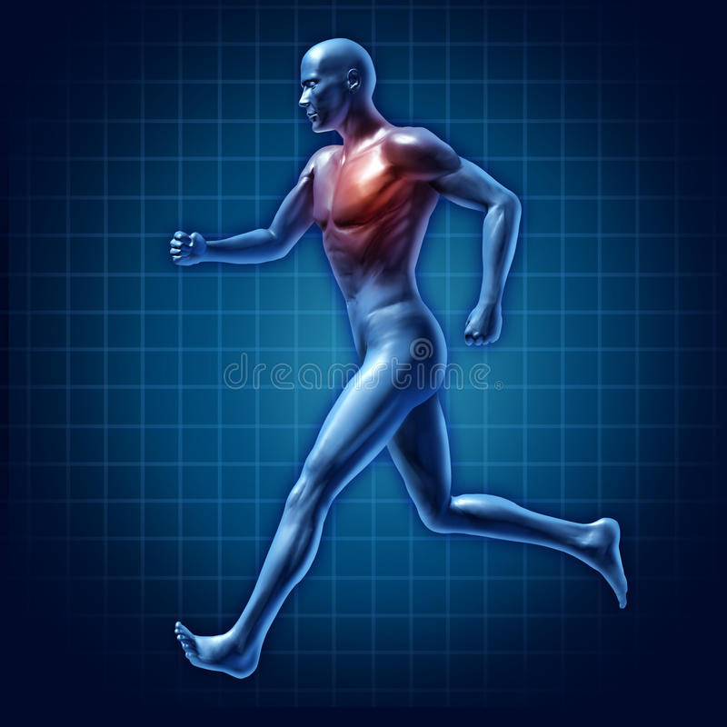 Download Running man active runner stock illustration. Illustration of city - 18173743
