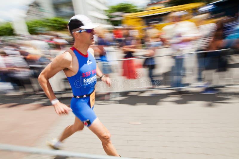 Download Running Man At Bonn Triathlon Editorial Stock Photo - Image: 25236248