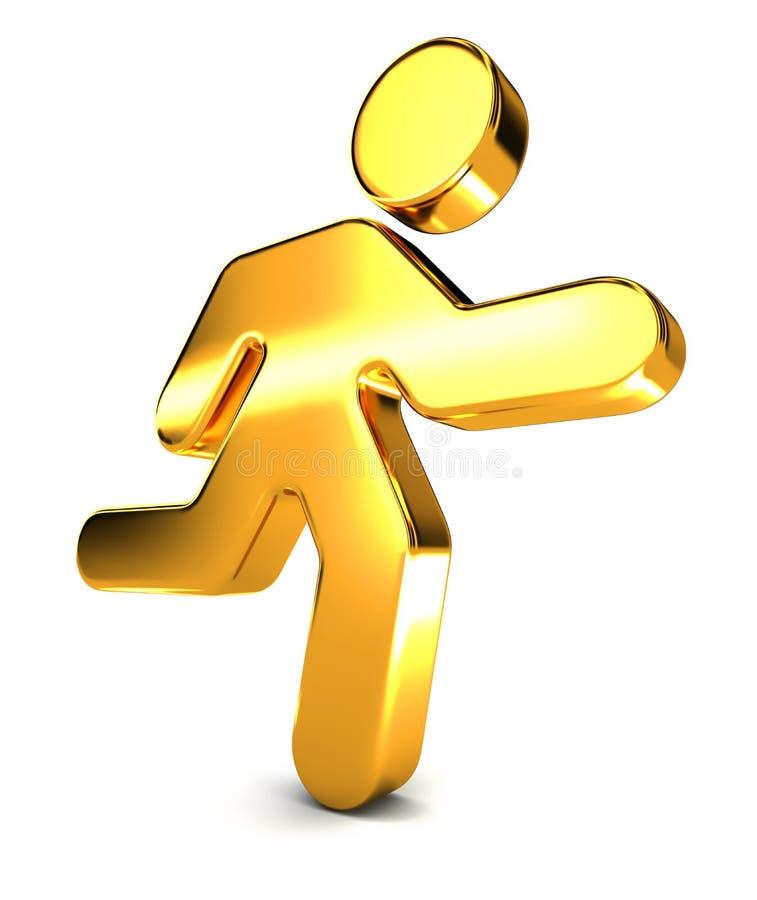 Running Man Icon vector illustration