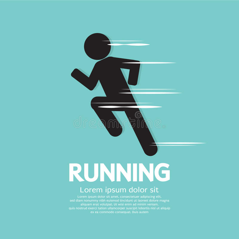 Running. Stock Images