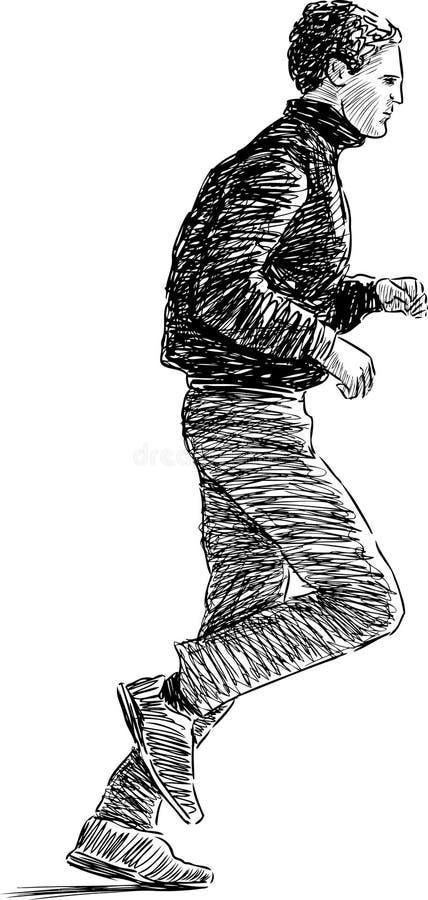 Download Running Man Stock Photo - Image: 32119040