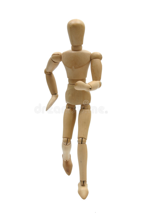 Free Running Mannequin Front Royalty Free Stock Photography - 269377