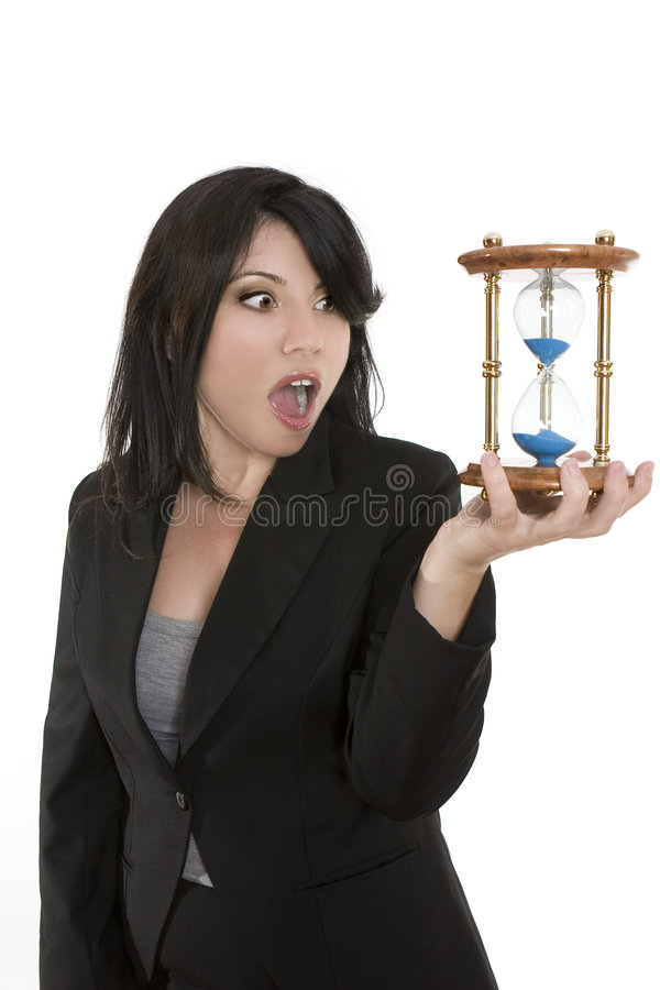 Running out of time. Not enough time in the day to do everything royalty free stock images