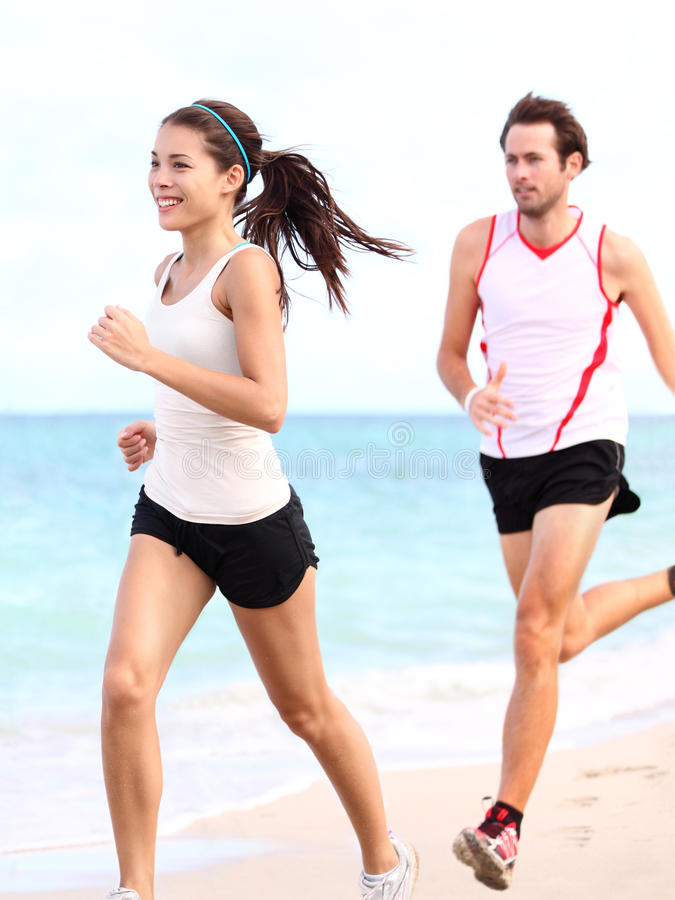 Download Running People: Couple Runners Stock Photo - Image: 22731070