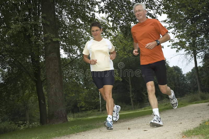Download Running Seniors stock image. Image of fitness, activities - 3839333