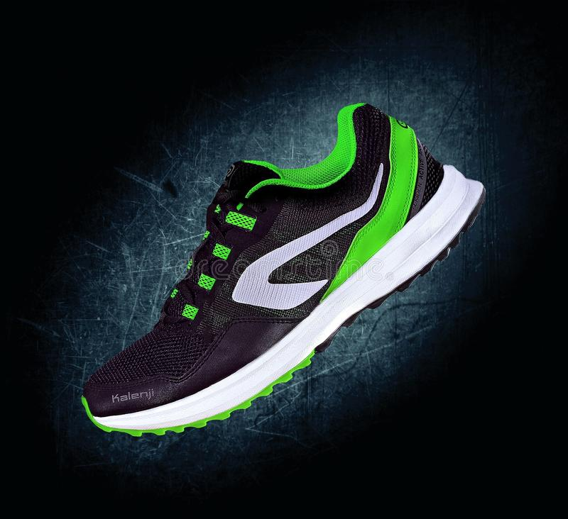 Running shoe royalty free stock photography