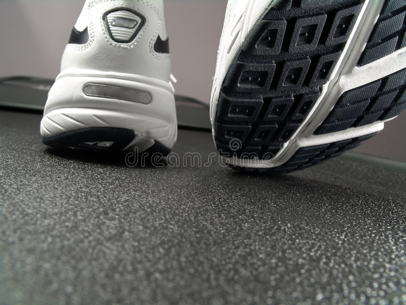 Download Running Shoes Closeup (Brand New) Stock Image - Image: 4093023