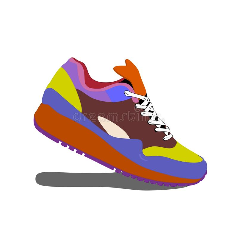 Running Shoes Stock Vector Illustration Of Symbol Shoelace 39802883