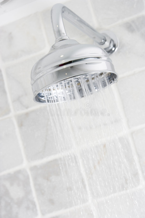 Download Running shower stock photo. Image of nozzle, angle, modern - 5689232