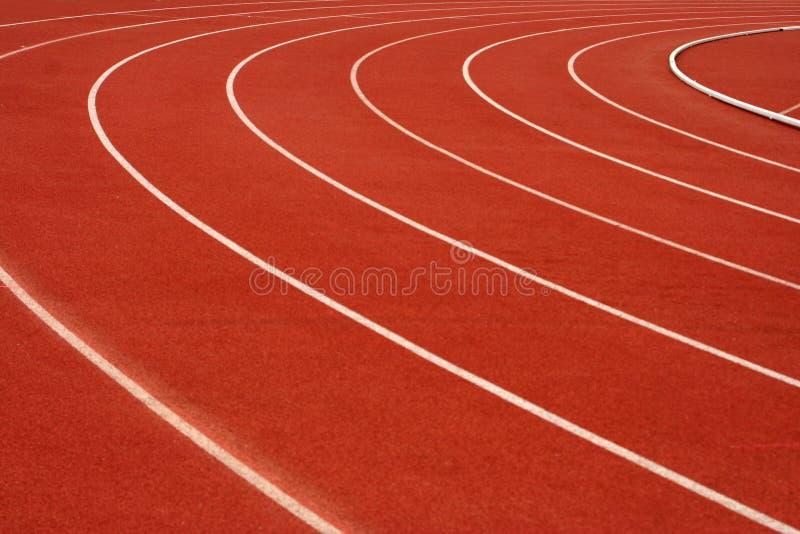 running spår arkivfoton