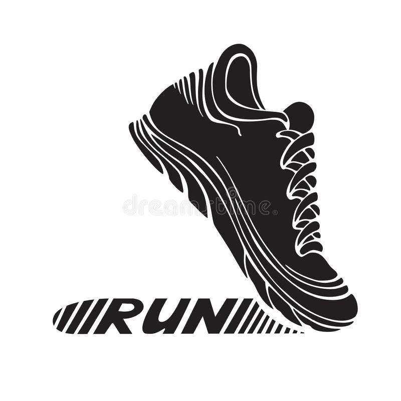Running Shoes Sole Vector