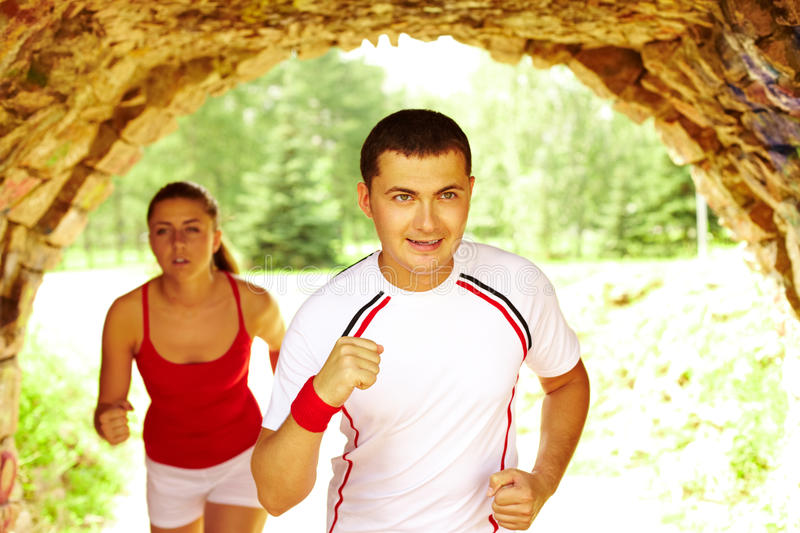 Download Running together stock photo. Image of moving, handsome - 23637898