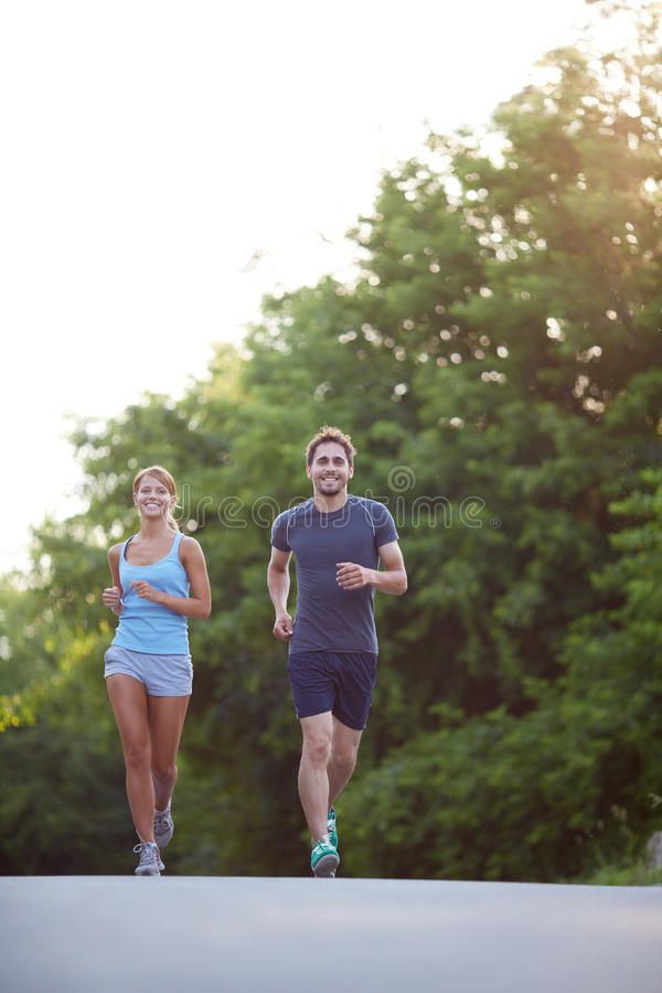 Download Running together stock photo. Image of moving, happy - 34412866