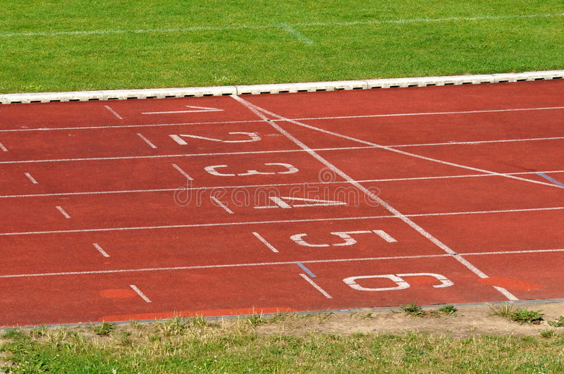 Running track stock image. Image of games, race ...