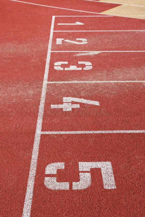 Download Running Track Stock Photography - Image: 23075712