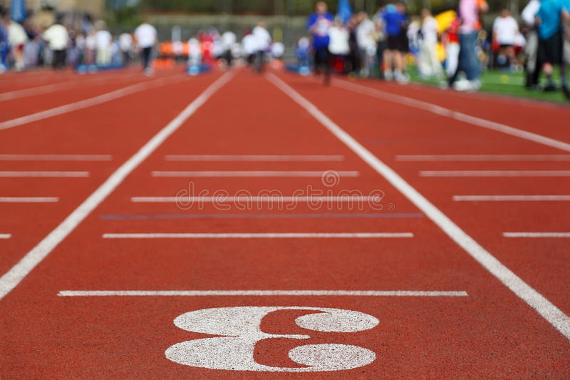 Download Running Track 3; Perspective; Stock Image - Image: 21830955