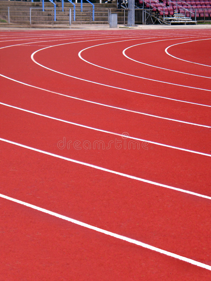 Free Running Track Royalty Free Stock Photo - 454985