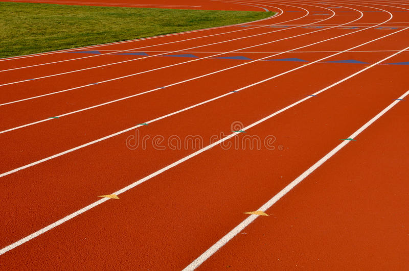 Running Track Background Stock Photos - Image: 15386523