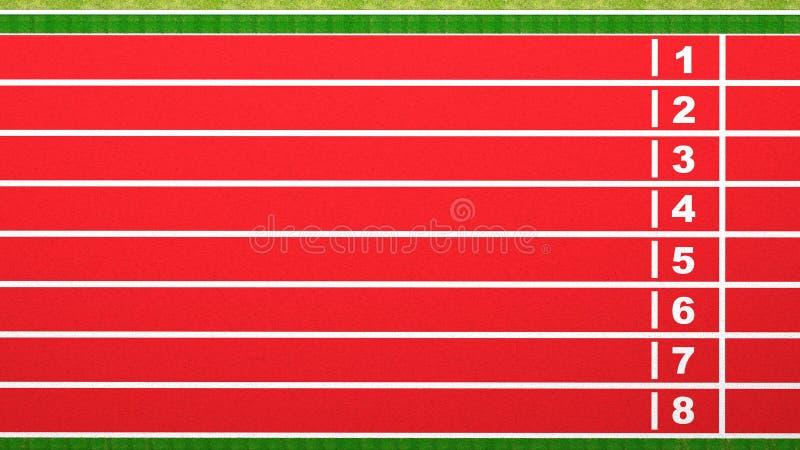 Running Track Stock Illustration Image Of Achievement
