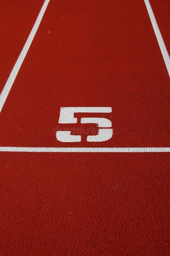 Running track number