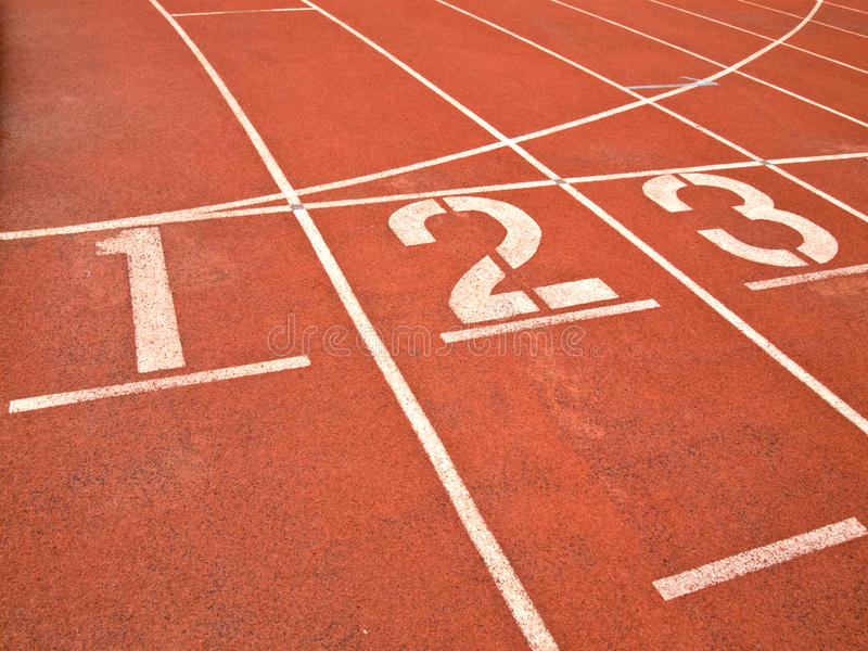 Download Running track numbers stock image. Image of blue, distance - 19948937