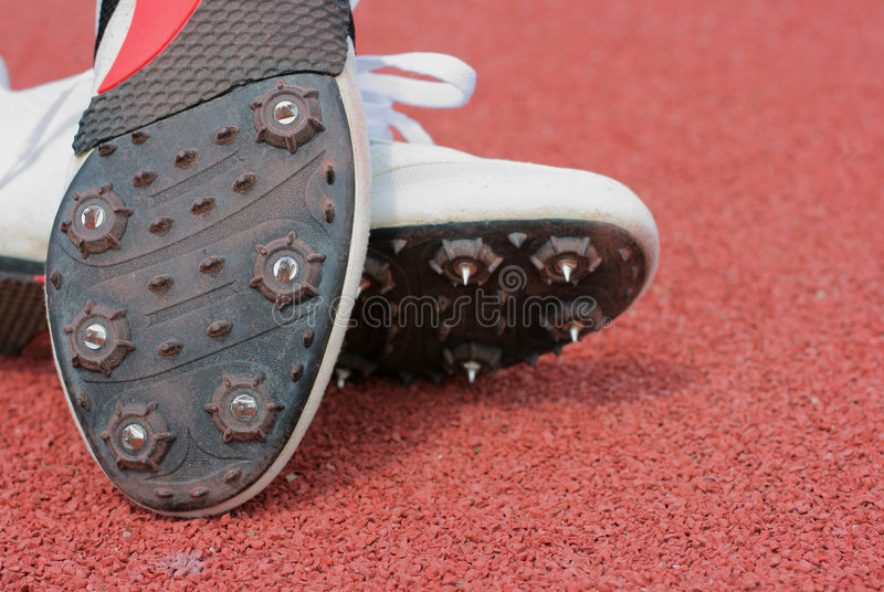 Running-track shoes. Still-life royalty free stock photography