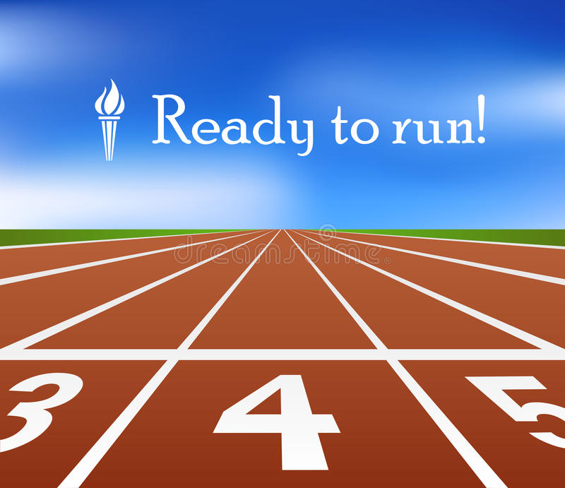 Download Running track stock photo. Image of outdoor, health, compete - 33046186