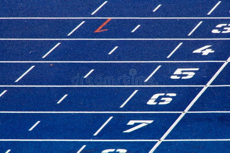 Running Tracks stock images