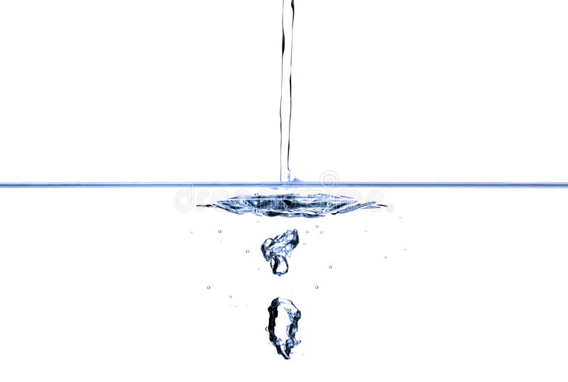 Download Running water stock image. Image of pure, close, blue - 3783753