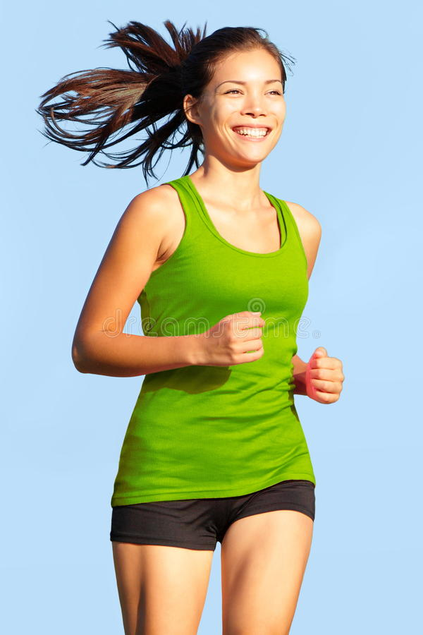 Download Running - Woman Going For A Run Stock Photo - Image: 28039416
