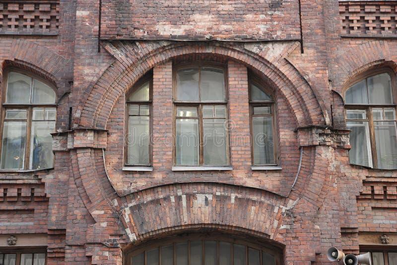 runt fönster arkivbilder