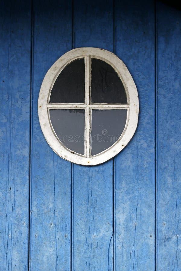 runt fönster för detaljdörr royaltyfria bilder