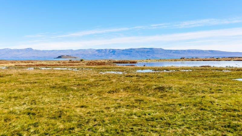 Runt om El Calafate, Patagonia, Argentina royaltyfria foton