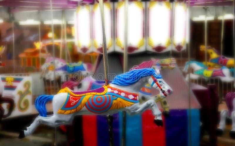 runt om horsing royaltyfria bilder