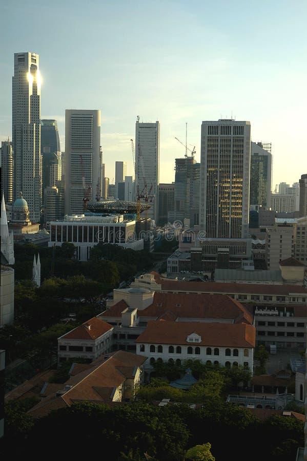 Runt Om Serien Singapore Royaltyfri Fotografi