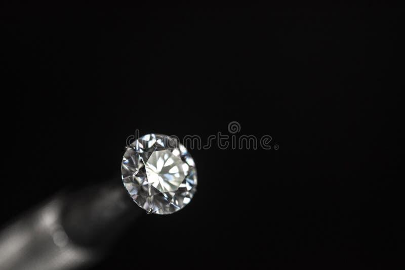 Runt snitt för diamant royaltyfri fotografi
