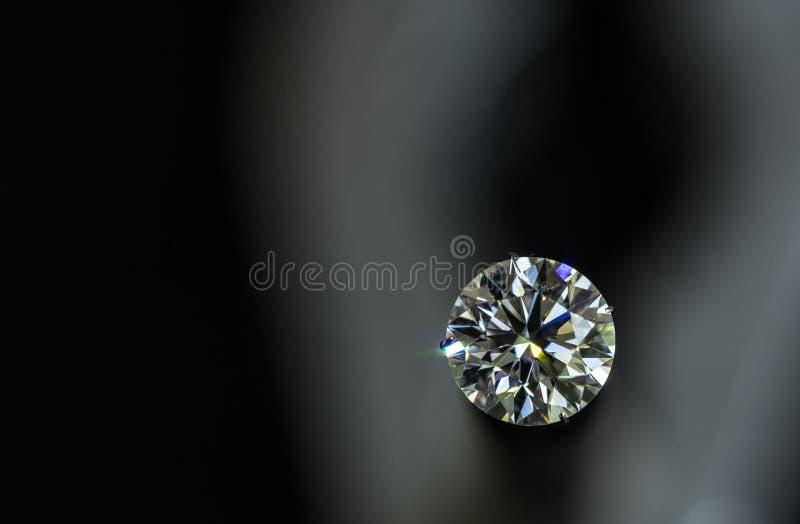 Runt snitt för diamant royaltyfria foton