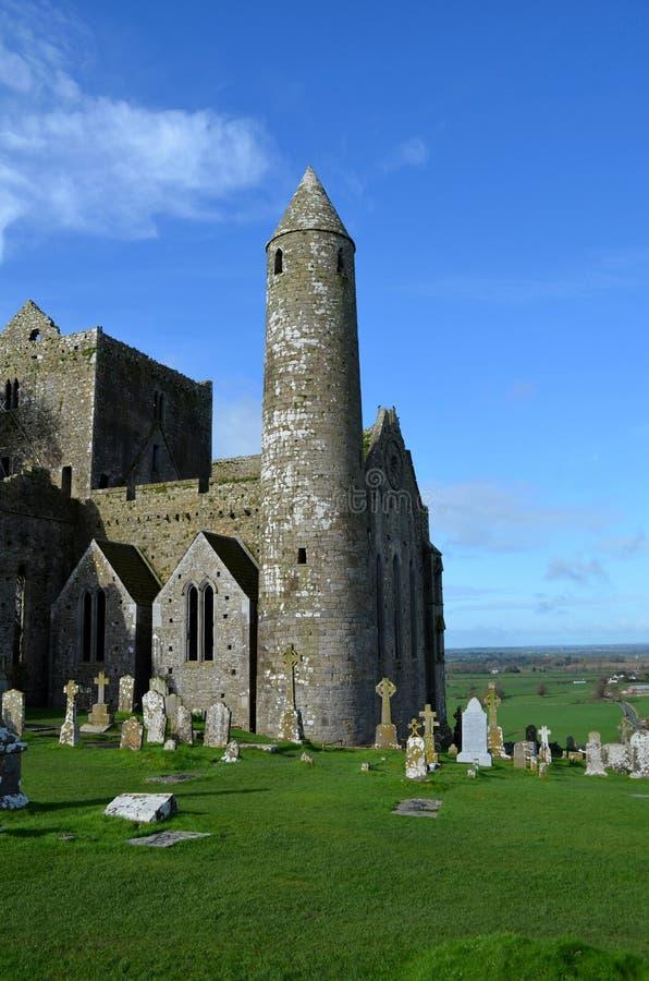 Runt torn på vagga av Cashel royaltyfri foto