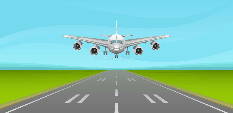runway ilustracja wektor