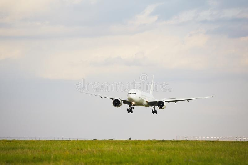 Download Runway stock image. Image of approach, arrival, dawn - 32882985
