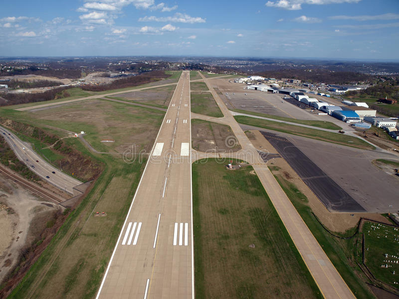 Download Runway Below stock photo. Image of midwest, overview - 12585248