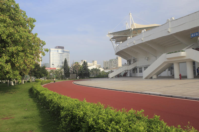 Download The Runway Out Of Stadium Of Amoy City Editorial Stock Image - Image: 31896444