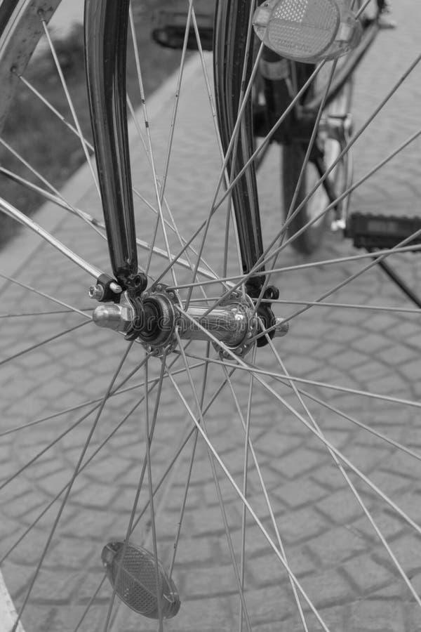 Ruota del bycicle fotografie stock libere da diritti