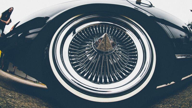 ruota dell'automobile immagine stock