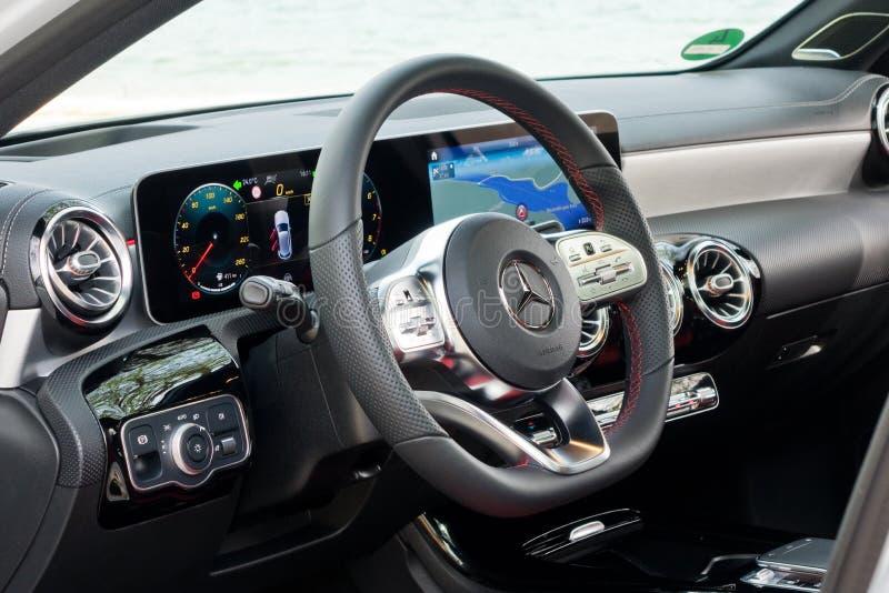 Ruota della classe A 2018 di Mercedes-Benz immagini stock