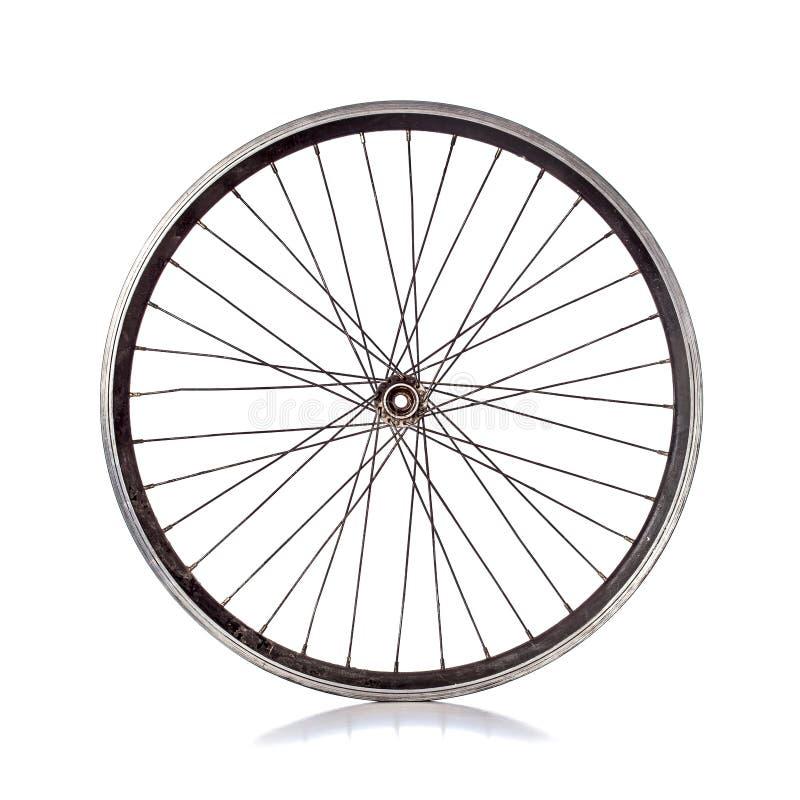 Ruota di bicicletta fotografie stock libere da diritti