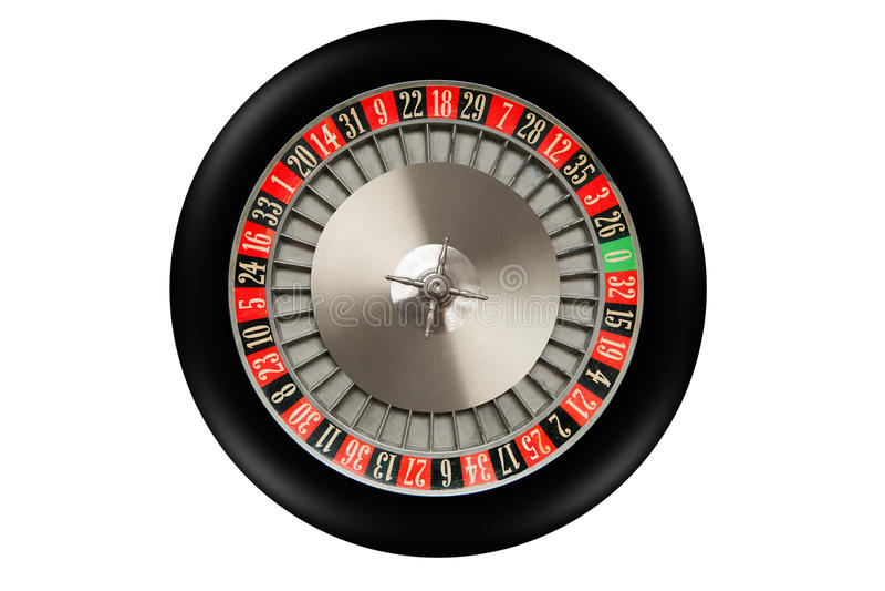 Ruota di roulette immagini stock