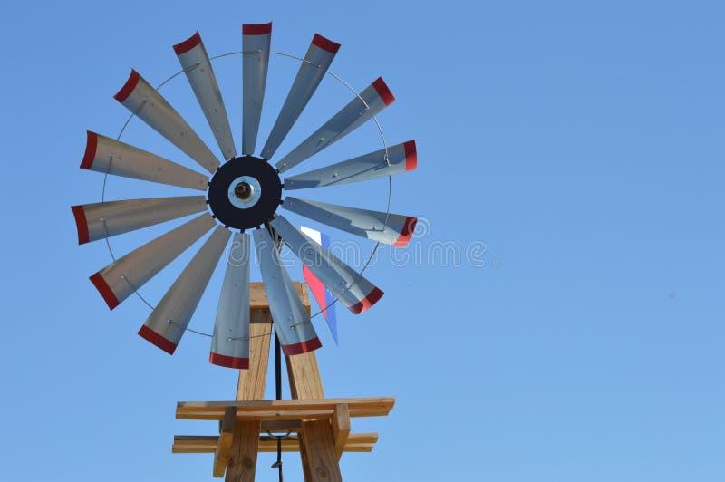 Ruota di vento di punto mediano di Route 66 fotografie stock libere da diritti